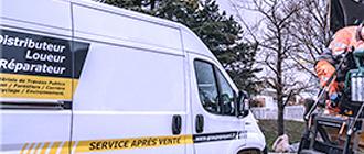 Service SAV/Dépannage de matériels en location - Loc BTP