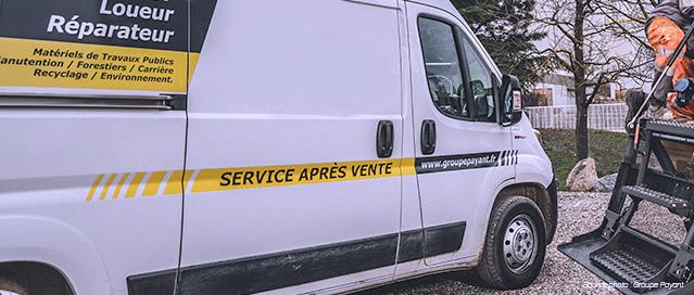 Loc BTP - Service SAV/Dépannage de matériels en location